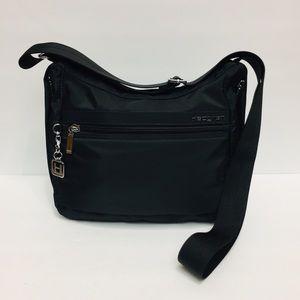 Hedgren Hobo Crossbody Black Bag